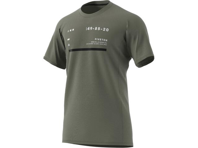 adidas Five Ten Trailcross Tee Men legacy green